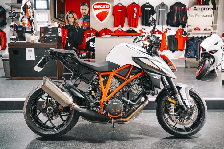 KTM 1290 SUPER DUKE R ABS