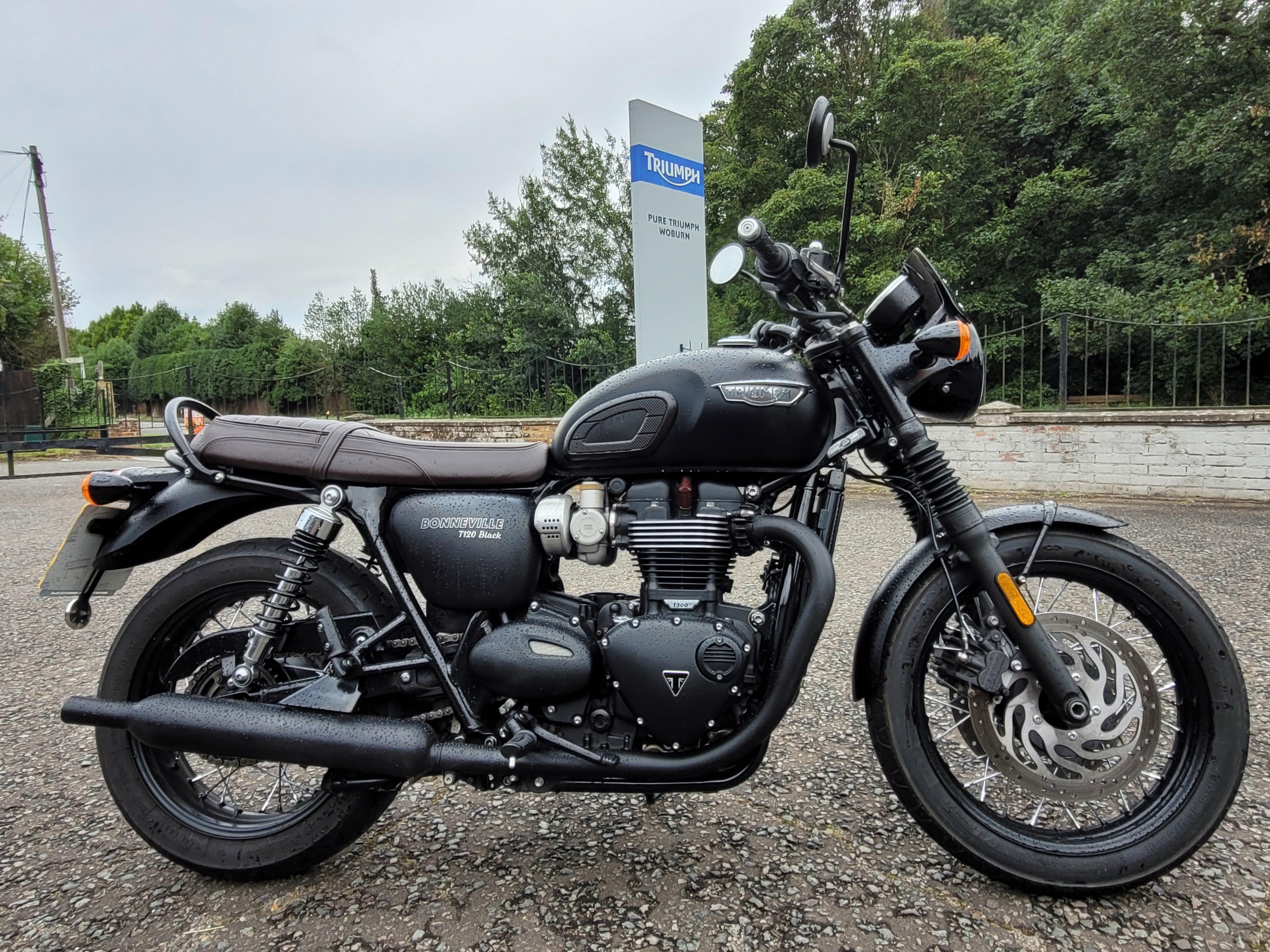 TRIUMPH Bonneville T120 Black   Classic (2020) image