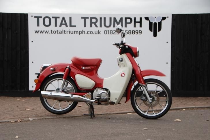 Honda C125 CUB