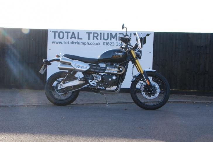Triumph Scrambler 1200 XE